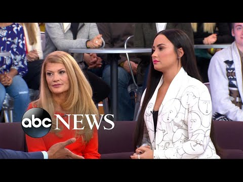 Demi Lovato's mom opens up on her battles with substance abuse, addiction