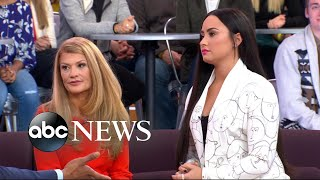 vuclip Demi Lovato's mom opens up on her battles with substance abuse, addiction