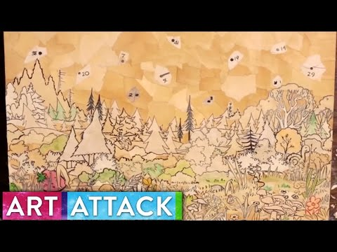 CHILDHOOD Timelapse Collage by Alisa Yang   Art Attack