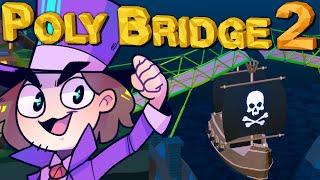 Brücke über ein Piraten-Schiff!