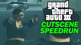 Grand Theft Auto III - All Missions Speedrun with Cutscenes