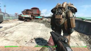 Fallout 4: Three EARLY and EASY Power Armor Locations!