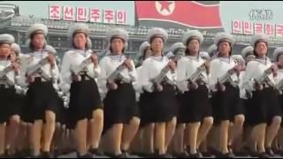 Военный парад в Северной Корее