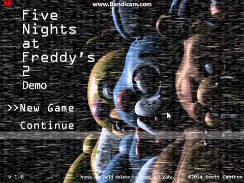 Five Nights At Freddy's 2 Demo Main Menu Theme
