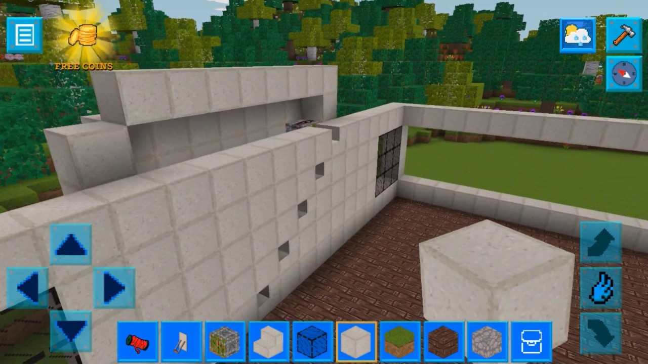 House with Electrium Mechanisms || RealmCraft Game with Skins Export to Minecraft