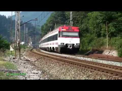TRAINSPOTTING (VOL. 270). Trenes renfe. Música: The Next Place (Thomas Newman).