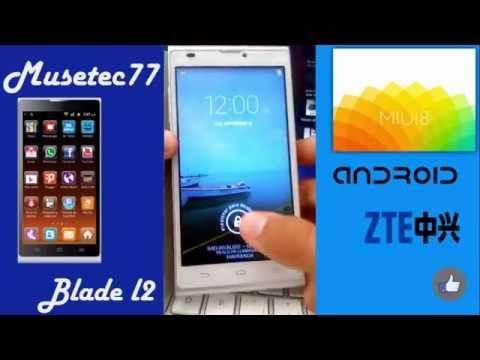 ZTE Blade L2 | MIUI 8 | Custom Rom | Instalacion de miui 8 en el zte blade l2 o telepatria 2