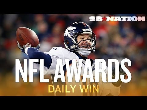 Handing out NFL awards at the three-quarter mark of the season - The Daily Win