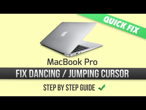 How To Fix Dancing Or Jumping Cursor On A MacBook Pro