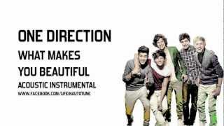 One Direction - What Makes You Beautiful (Acoustic Instrumental)