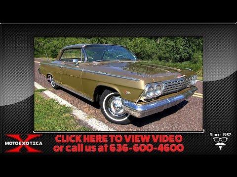 1962 Chevrolet Impala Golden Anniversary SS Two-door Hardtop || For Sale