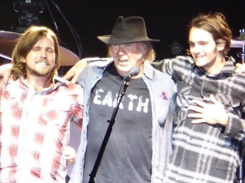 Neil Young & Micah and Lukas Nelson - Here We Are In The Years