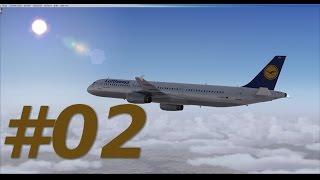 Let´s Play FSX [Flug 33 Part 2] Aerosoft X Extended A321 Frankfurt - Madrid