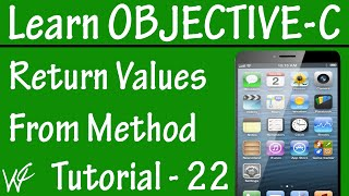 Free Objective C Programming Tutorial for Beginners 22 - How to Return Value from Methods
