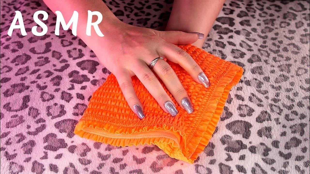 🎧ASMR Fall Asleep in 30 min/NO TALKING/fabric scratching,ceramic mug,cardboard scratchy tapping,etc.