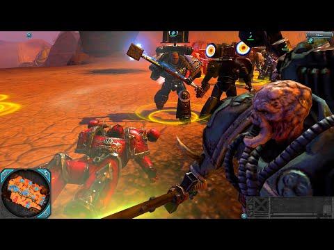 Holy War! Black Templars vs Word Bearers! - Epic Battle, Warhammer 40k: Dawn Of War 2: Retribution |