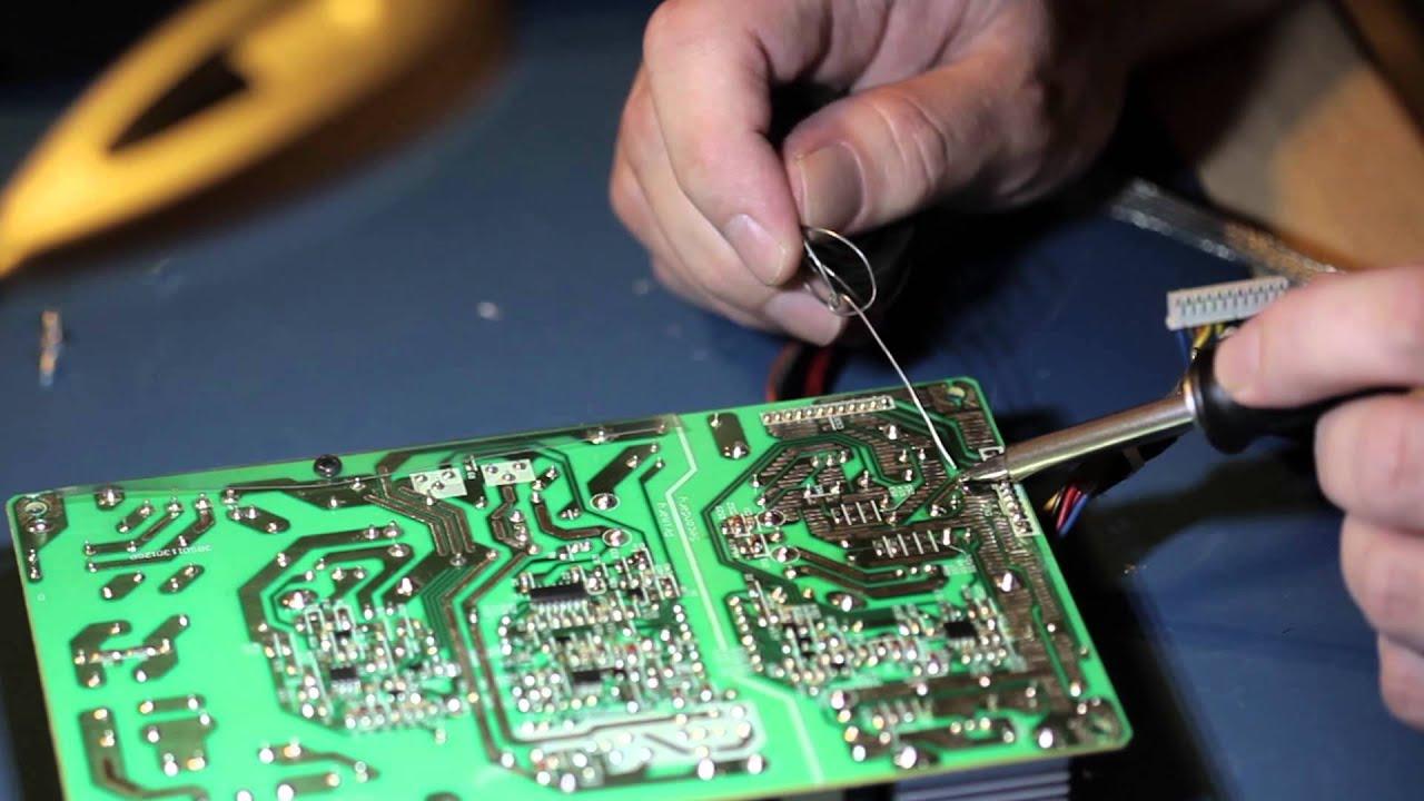 LCD TV Capacitor Repair