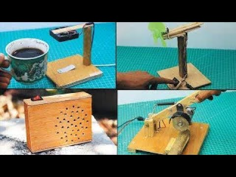 Download 4 machines made from wood waste/木くずから作られた4台の機械