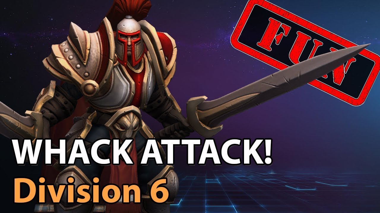 ► Whack Attack! - Division 6 - Heroes of the Storm Amateur Play