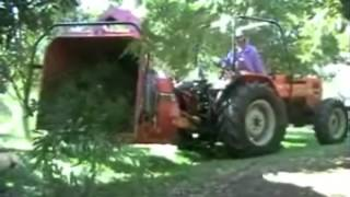 Woodchippers Australia Ch260 SAME tractor