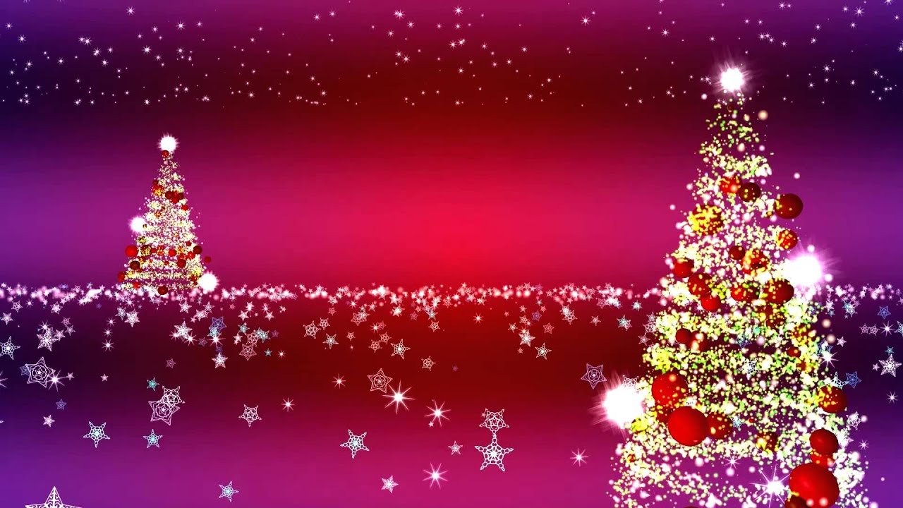 christmas tree animation background aa vfx - youtube