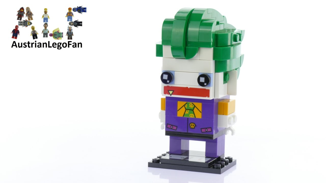 lego brickheadz 41588 the joker lego speed build review. Black Bedroom Furniture Sets. Home Design Ideas