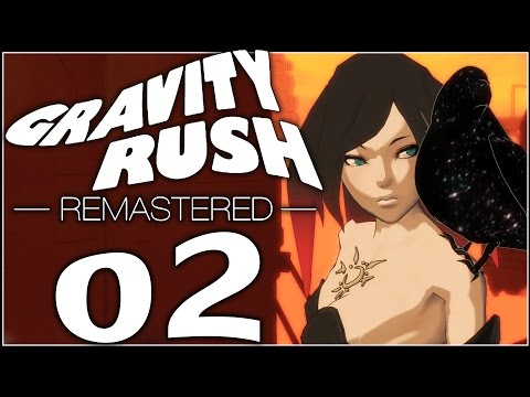 Gravity Rush Remastered Walkthrough Part 2 | Shadows over the City & Gems in the Sky