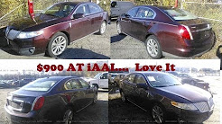Bought 2009 LINCOLN MKS for $900 At Insurance Auto Auction IAAI