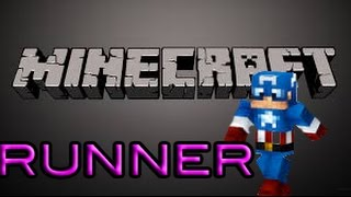 """Minecraft - Mini game Runner- """"Honestly the most difficult mini game"""""""