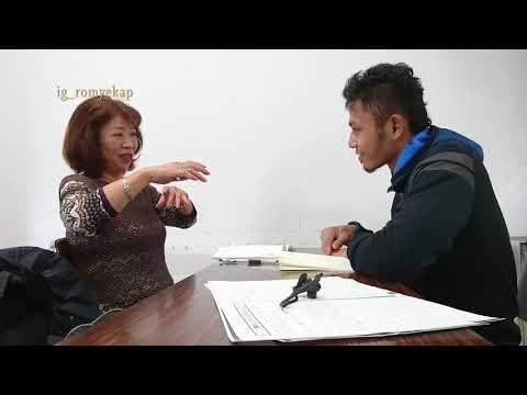 Tante ku orang Jepang belajar bahasa indonesia
