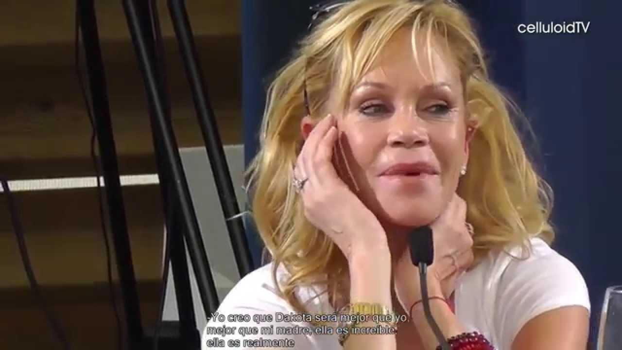 Melanie Griffith habla...