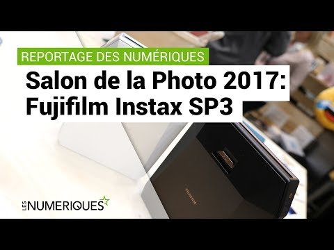 Salon de la photo 2017: Fujifilm Instax SP3