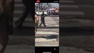 Hampton Brandon Sicking His Dog on Homeless People (Not Funny)