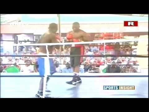 International Boxing Match, Limbani Masamba Malawi Vs Moses Mwalwanda Tanzania