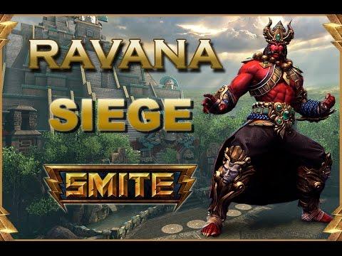 SMITE! Ravana, El nuevo Ravana tiene potencial o que?! Siege #62
