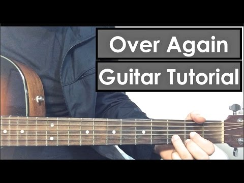 'Over Again' - One Direction Guitar Tutorial (Easy Lesson)