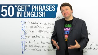 """Learn English: 50 """"GET"""" Phrases"""