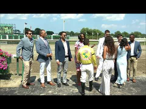 video thumbnail for MONMOUTH PARK 7-12-19 RACE 5