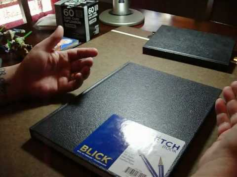 sketch card Artists tutorial 5.wmv
