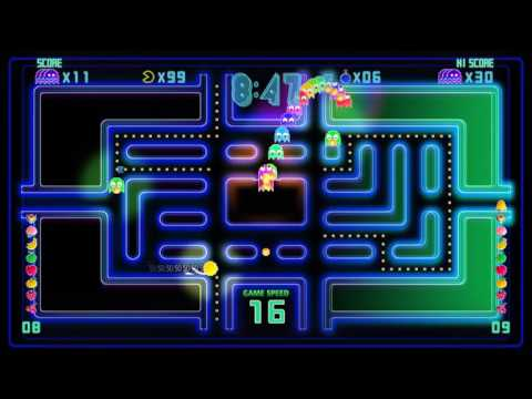 Pac-Man Championship Edition: DX - Dungeon - Ghost Combo