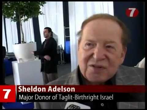 Sheldon Adelson Recruiting American College Youth to Be   Ambassadors for Israel.mp4