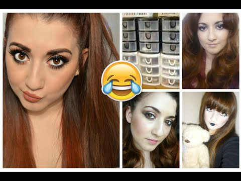 Reacting to my Old Videos | Jessica Rose