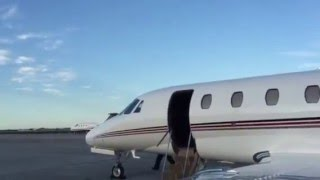 Ian Poulter heading to The Masters on the jet
