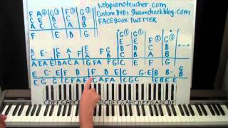 Weekend in New England Piano Lesson part 1 Barry Manilow