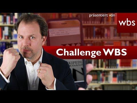 Darf ich einen Wikipedia-Artikel über meinen Lehrer verfassen? | Challenge WBS RA Solmecke