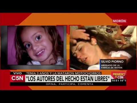 C5N - Justicia:  Tenía 3 años y la mataron motochorros, los absolvieron