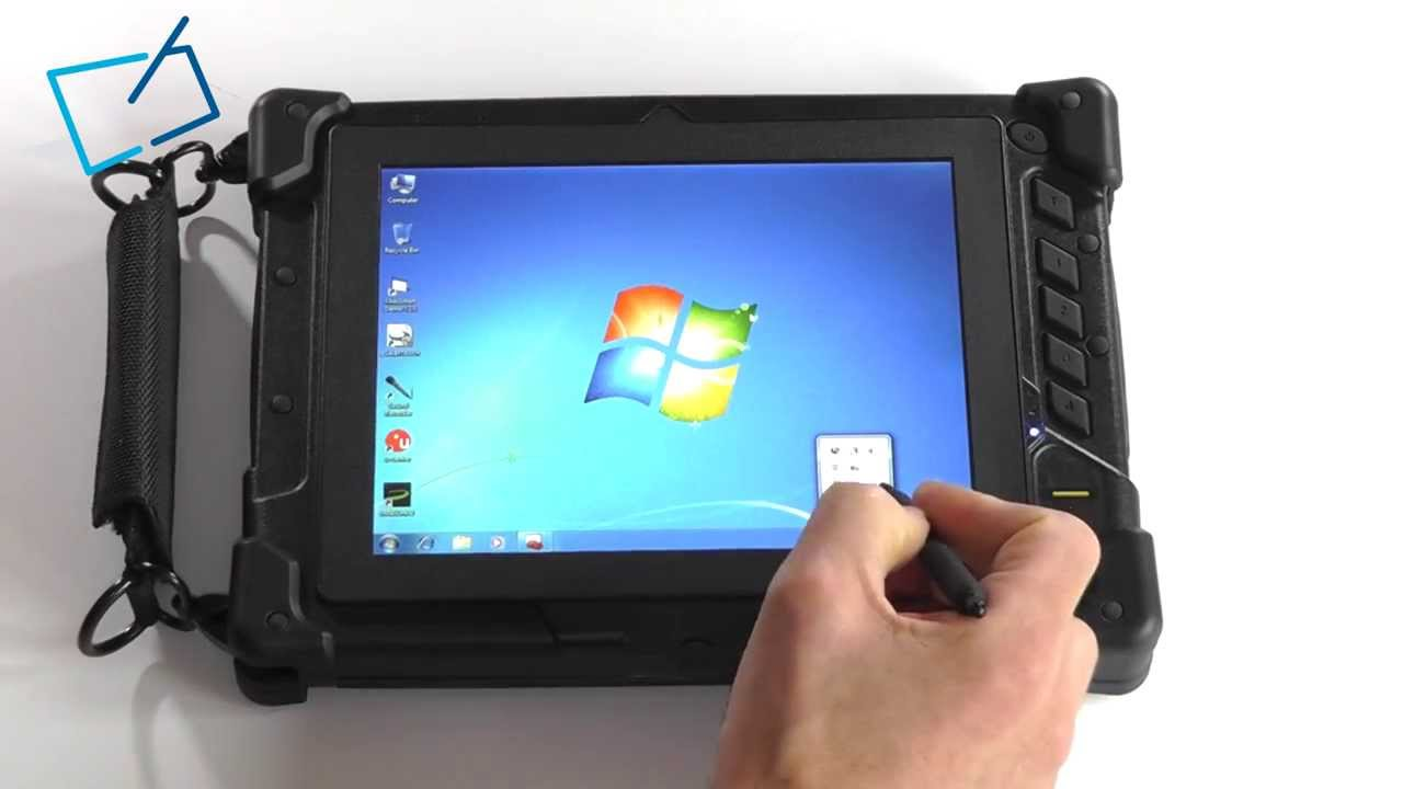 Winpad Ic 8 Quot Ip65 Ruggedized Windows Tablet 2d Bcr Msr