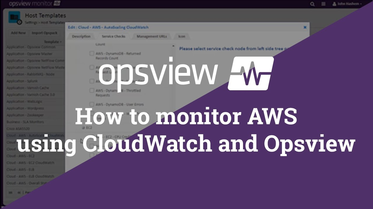 AWS Monitoring Tools: Monitor on top of CloudWatch | Opsview