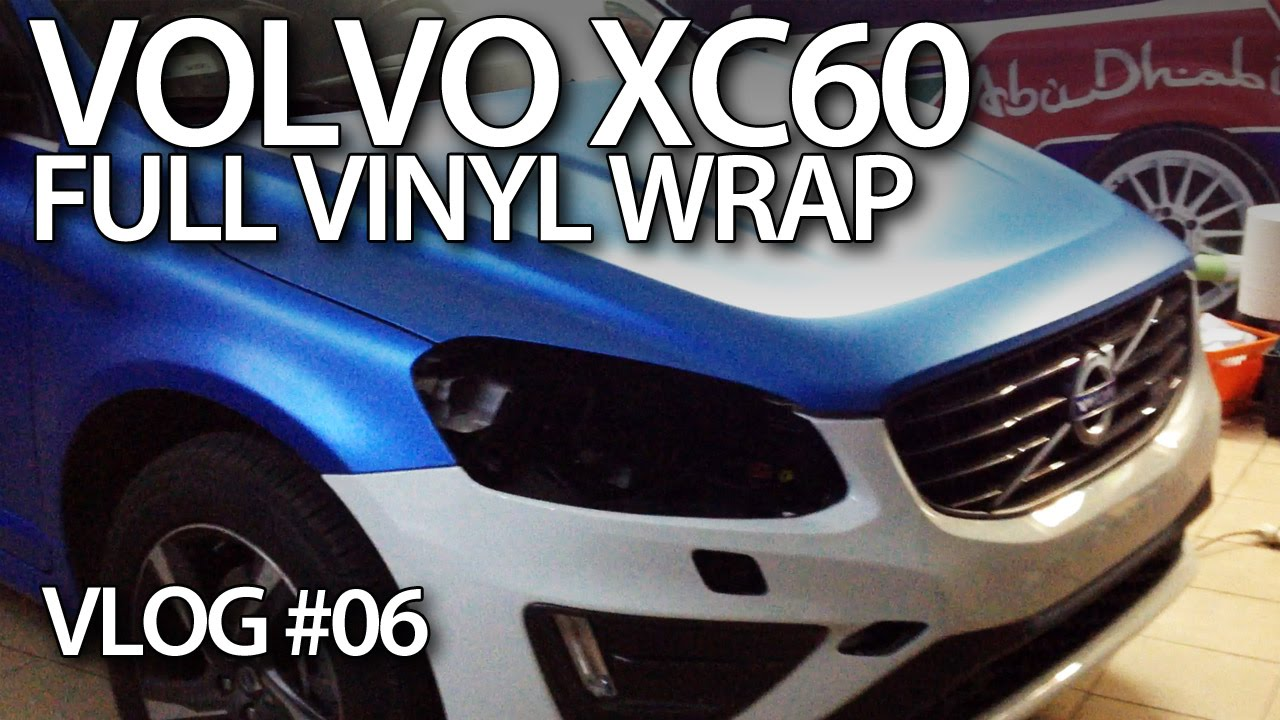 Wat Kost Vinyl : Volvo xc full vinyl wrap youtube