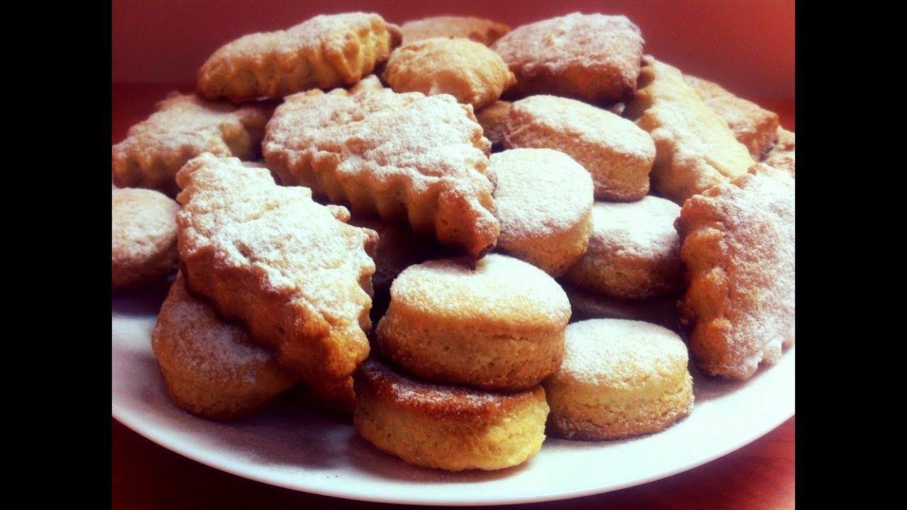 печенье на сковороде рецепт с фото с маргарином